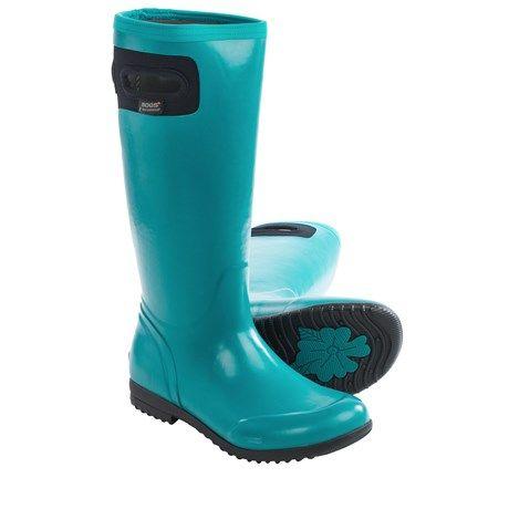 Bogs Footwear Tacoma Rain Boots Waterproof Insulated For Women Boots Rain Boots Footwear
