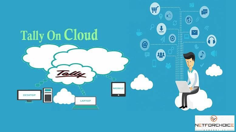 Tally on Cloud Server provides by Netforchoice Solutions