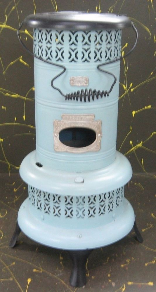 Antique Perfect Smokeless Oil Heater Converted To Electric Floor Lamp Winning Bid Us 45 00 4