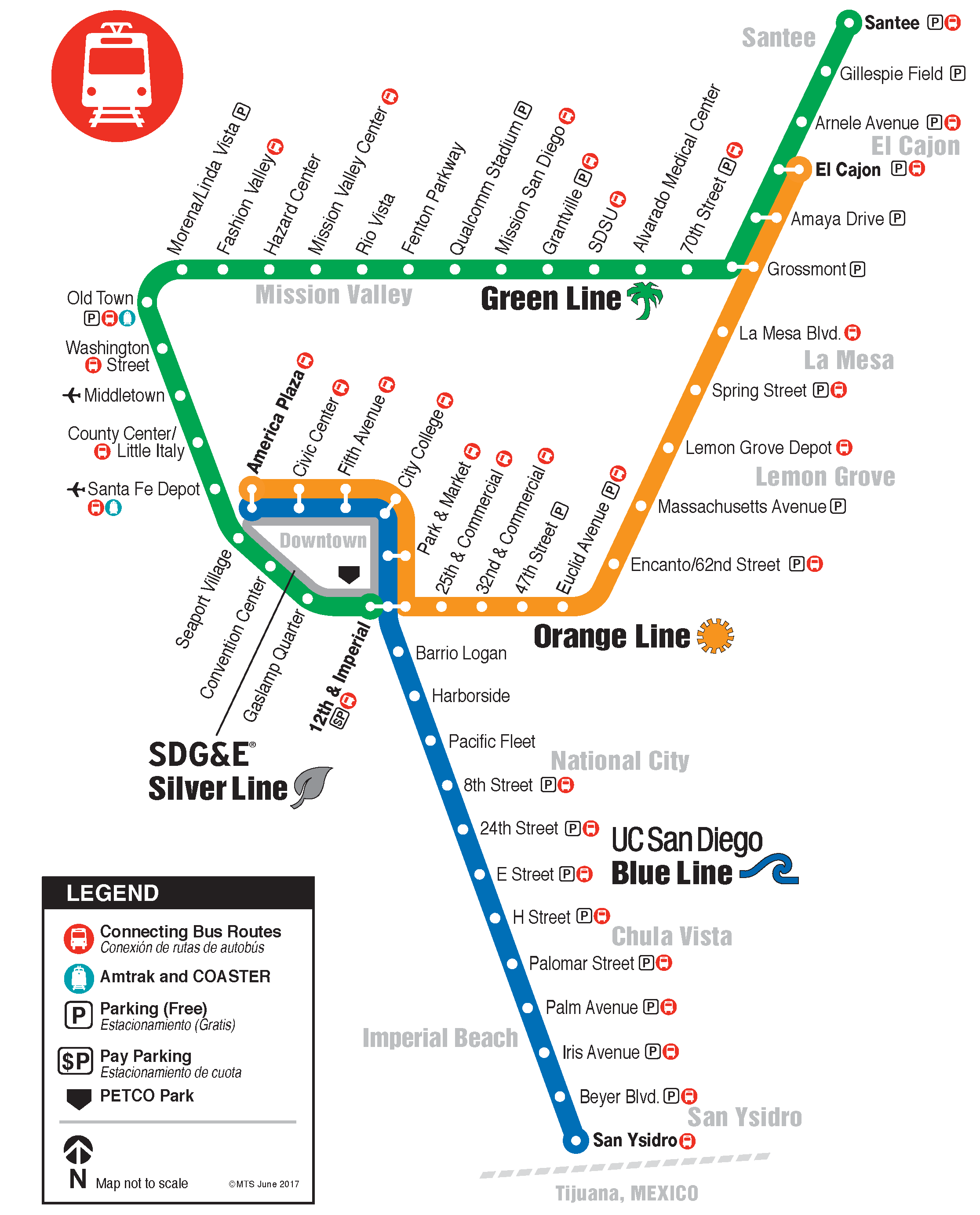 Trolley System Map | San go, San go map, San go travel on milwaukee district map, miami art district map, washington district map, brewery district map, la arts district map, noho arts district map, big island district map, lausd district map, indiana state fairgrounds map, miami design district map, san diego map, la fashion district map, london theatre district map, theater district map, baltimore district map, san bernardino county district map, cancun hotel district map, orlando district map, mission valley map, marina district map,
