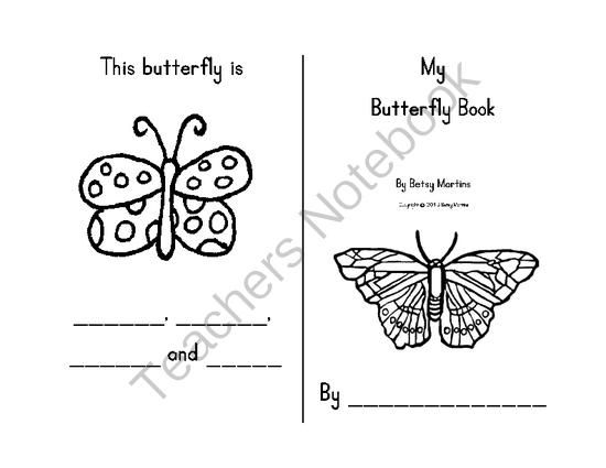 FREE My Butterfly Book from The Specialty Shop on