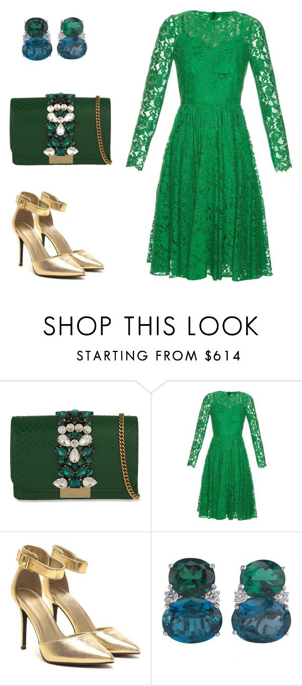 """""""Без названия #2694"""" by xeniasaintp ❤ liked on Polyvore featuring GEDEBE, Dolce&Gabbana and Christina Addison"""