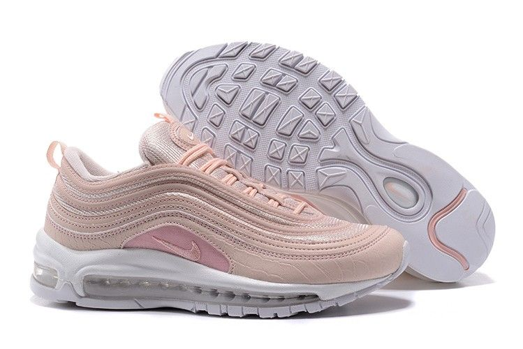 the best attitude 8cd99 af0d3 à vendre Femme Nike Air Max 97 Shockproof Chaussures Coral Light Rose  917646-600