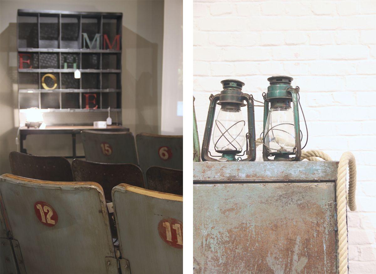 Felicie Aussi Lampes A Petrole Et Fauteuils Cinema Vintage Mobilier De Salon Fauteuil Cinema Meuble Vintage