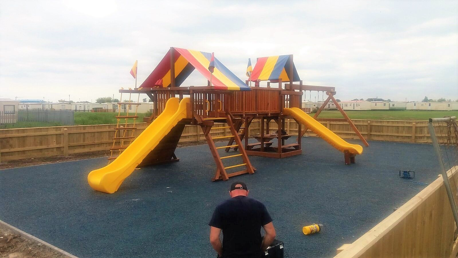 Rainbow Commercial | Climbing frames, Commercial and Cedar wood