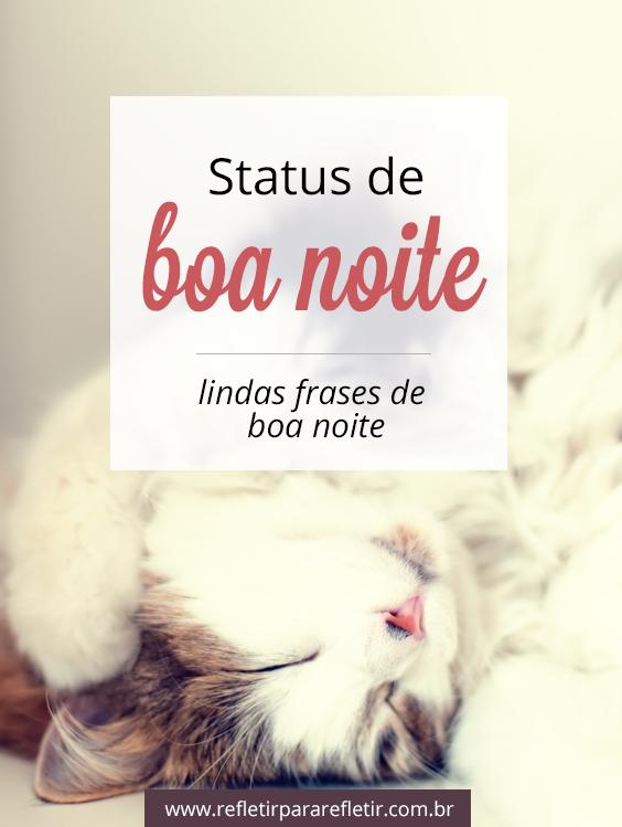 Status De Boa Noite Frases Boa Frases De Boa Noite E Boa Noite