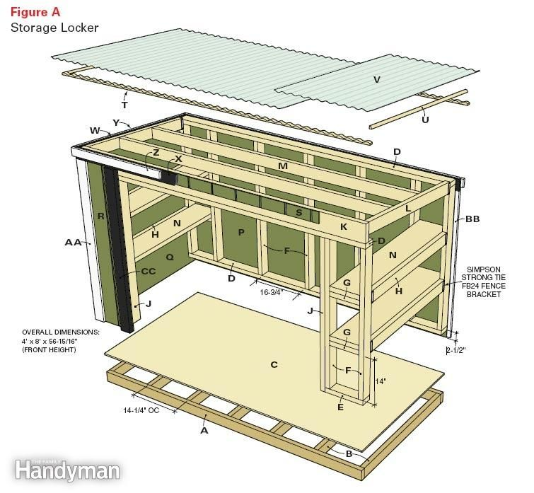 Snowblower Storage Shed Ideas | Shed Plans Web