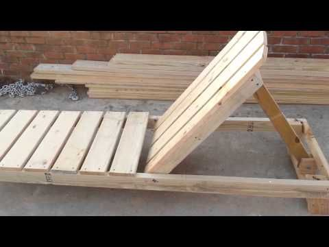 How To Build A Chaise Lounge Pool Chair Part 1 Pallet Lounge Pool Chairs Lounge Chair Design