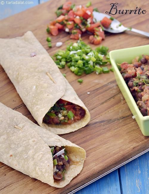 Burritos veg whole wheat burritos diabetic friendly recipe burritos delicious diabetic recipe recipe indian diabetic recipes by tarla dalal forumfinder Gallery