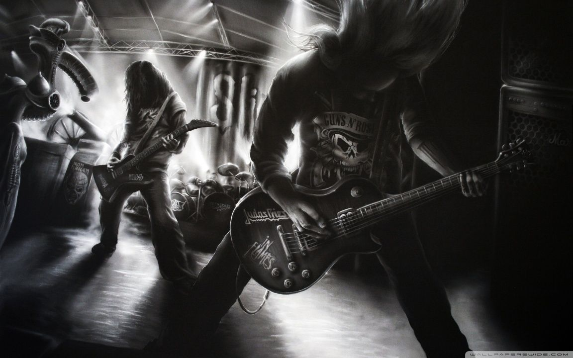 Metal Rock Band HD desktop wallpaper : Widescreen : High ...
