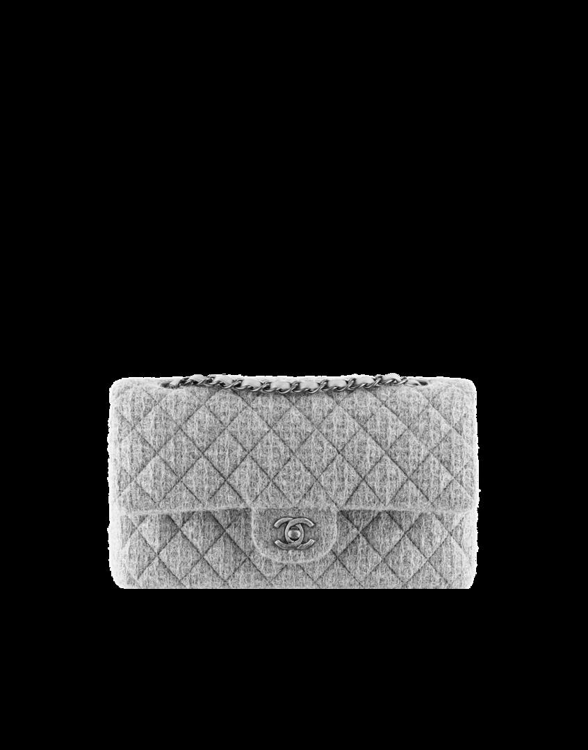 bd1b51e04b0d Tweed classic bag - CHANEL | Chanel | Fall handbags, Fall bags und ...