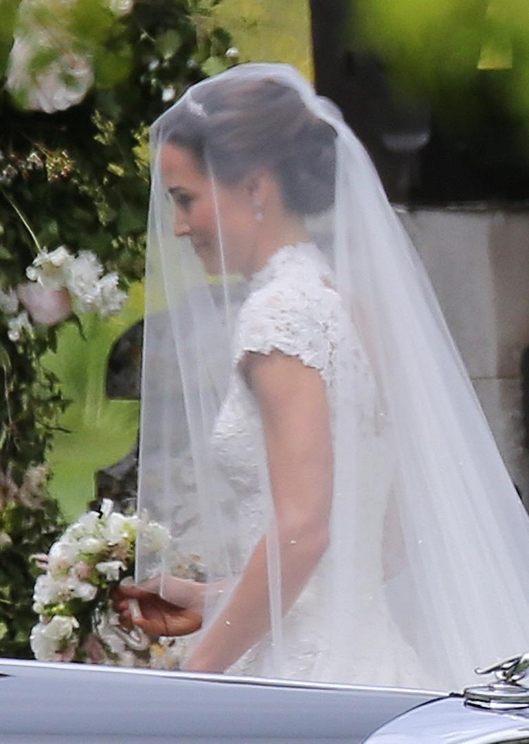 Pippa Middletons Veil Was Designed By Stephen Jones