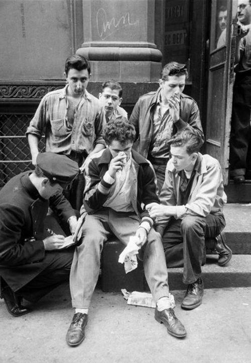 High School Riot 1950 1950 S Pinterest High