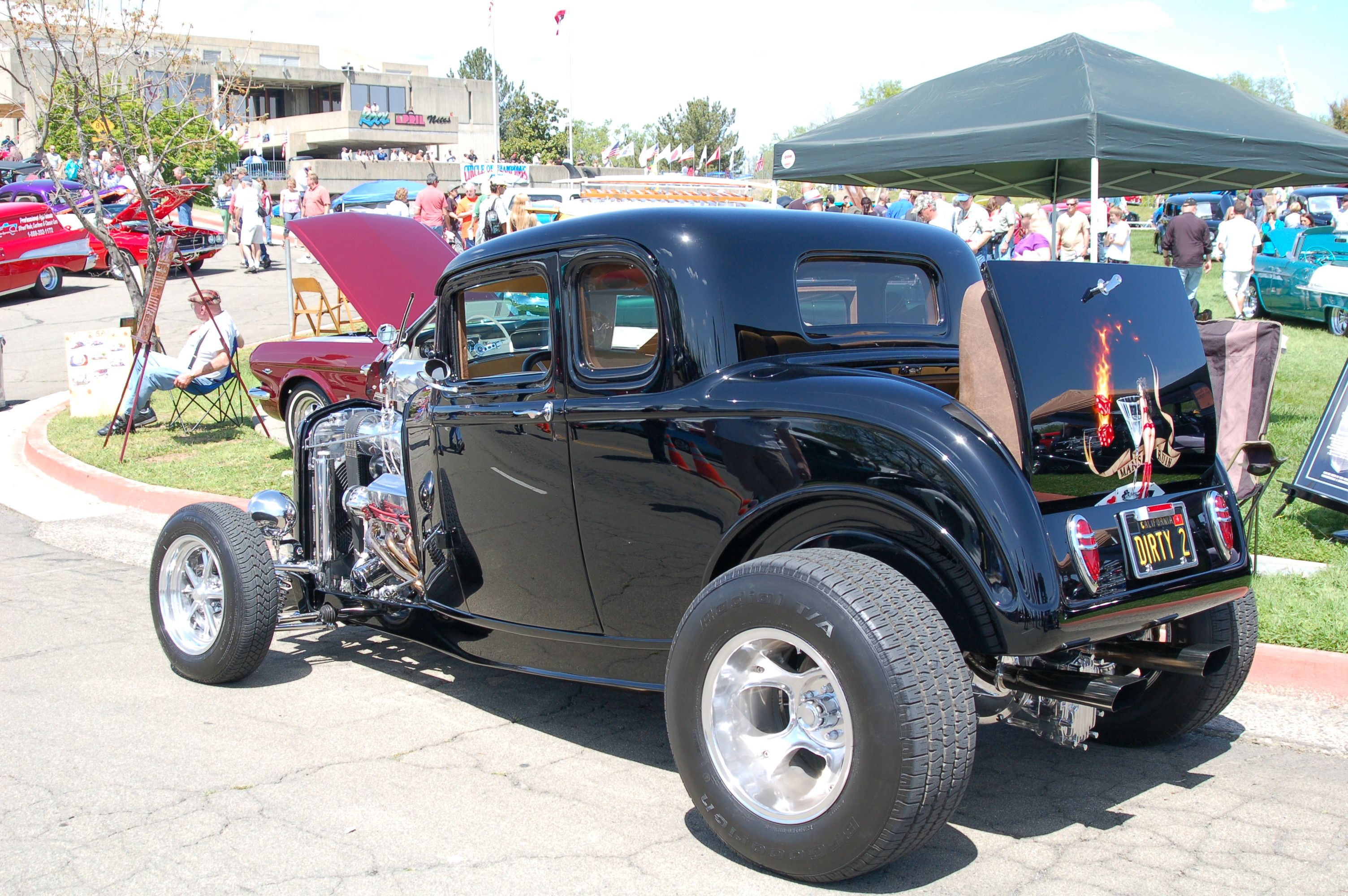 32 ford rumble seat