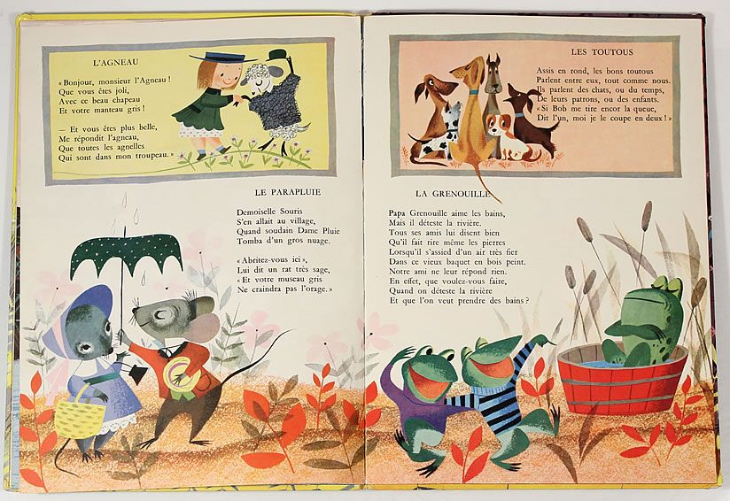 Petits Poemes French Version Of The Golden Book Of Little Verses