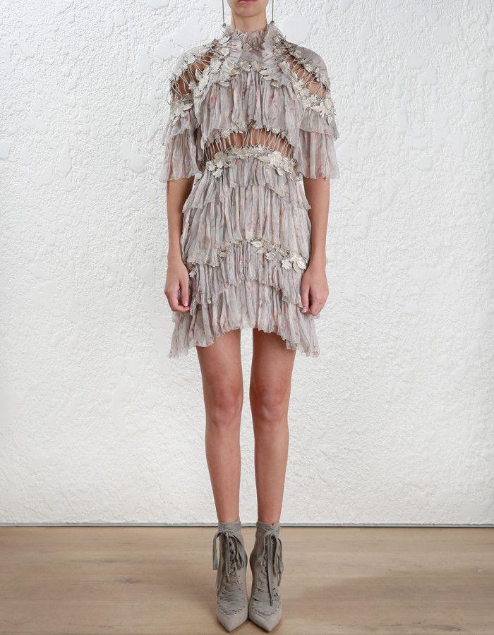 d34b3f38413a Zimmermann Stranded Tier Mini Dress. | Glamorous Fashion | Dresses ...