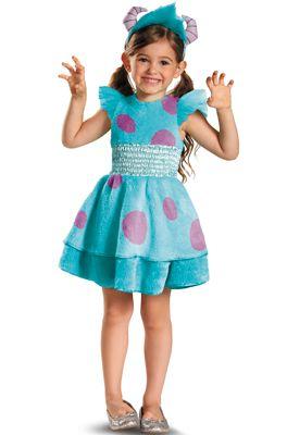 Monsters University Sulley Girl Deluxe Infant/Toddler