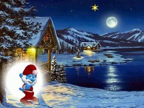 3 adventgru vom schlumpf youtube schl mpfe und co pinterest advents gr e weihnachten - Schlumpf weihnachten ...