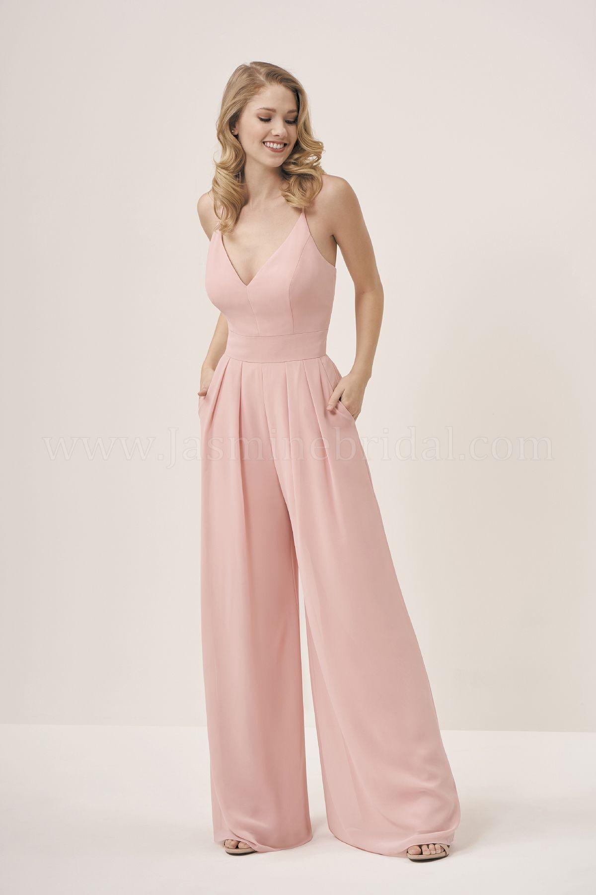 Jasmine Bridal | Jasmine Bridesmaids Style P196053 in Rose | Wide ...
