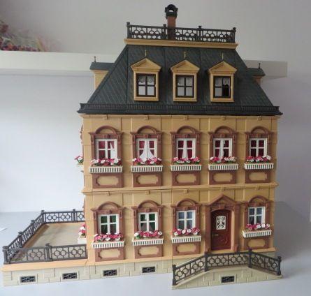 Poppenhuis 5305 rosa playmobil de poppetjesshop for Playmobil haus schlafzimmer