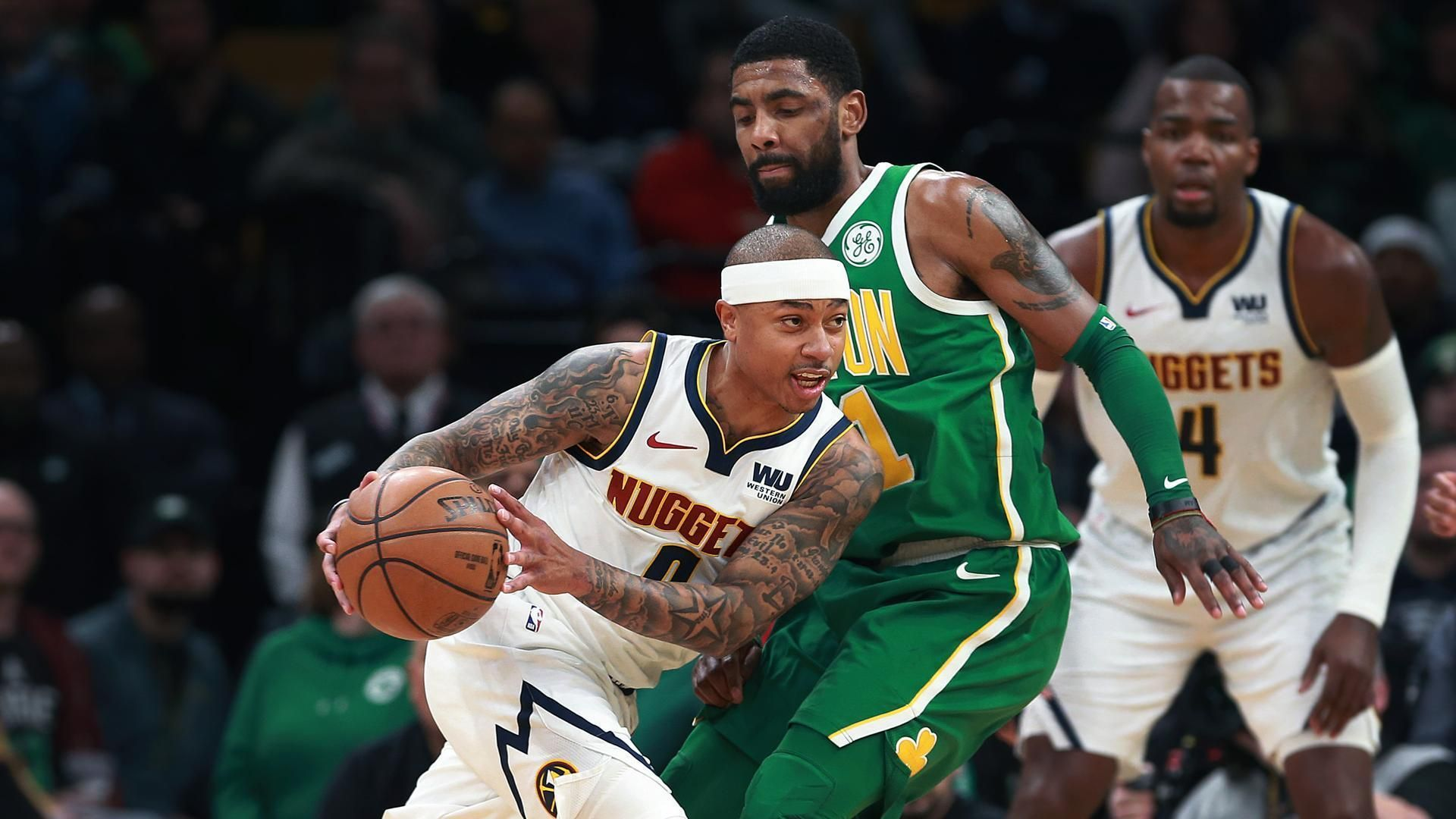 Nuggets have quite a time beating Celtics at TD Garden