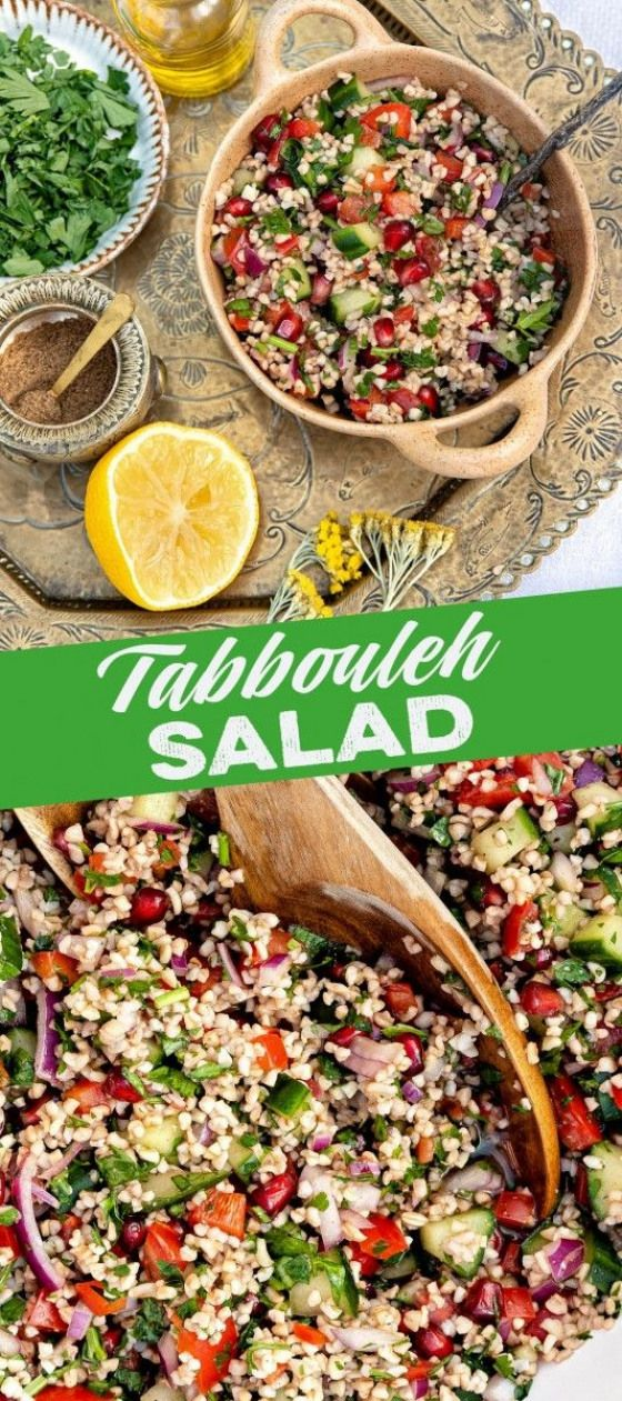 This super-healthy tabbouleh salad is easy to make and packed with flavour - a powerhouse of plant-based goodness! I have stuck pretty close to the authentic Lebanese recipe with a couple of minor twists.