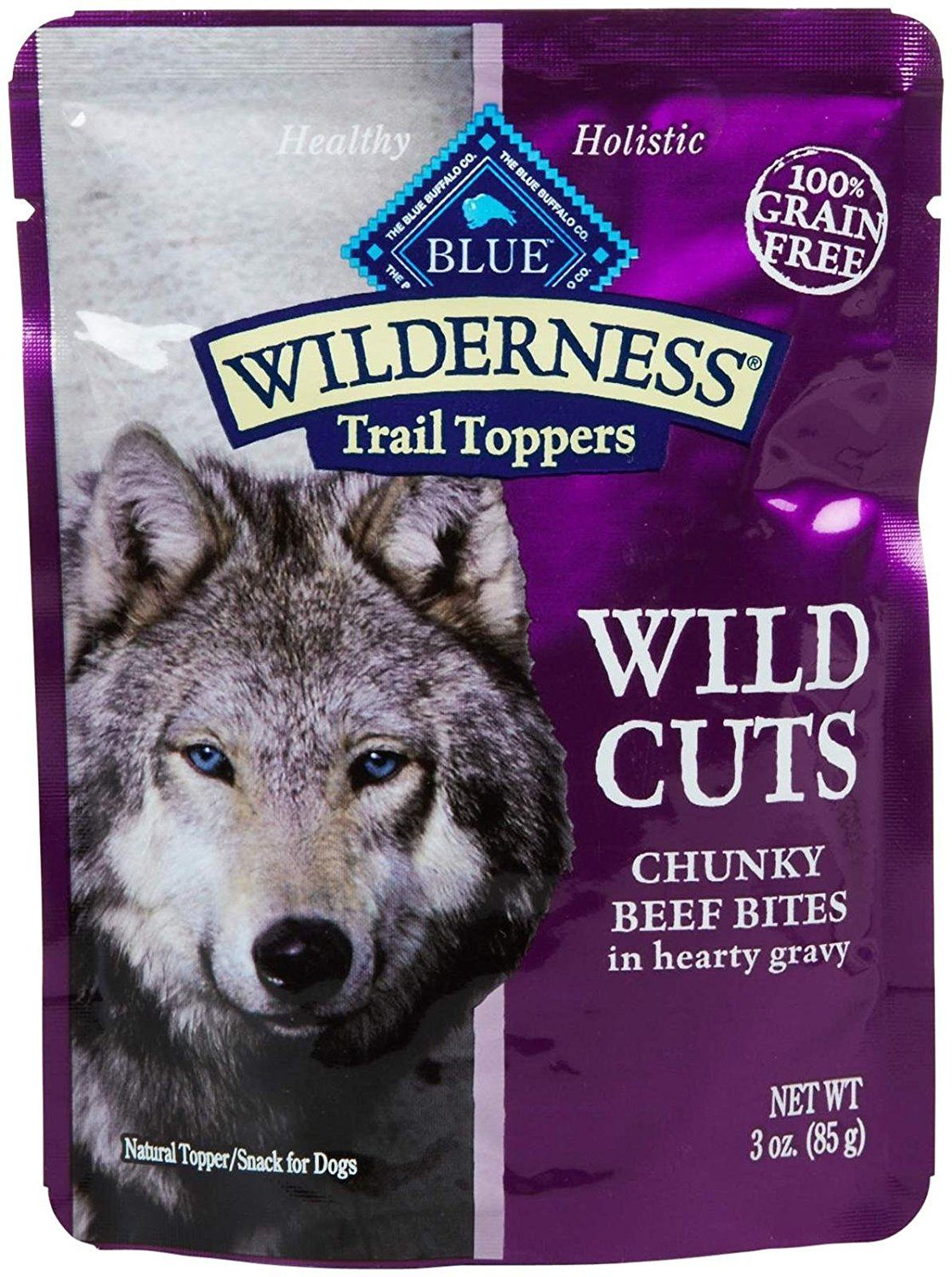 Blue buffalo wilderness trail toppers chunky beef bites