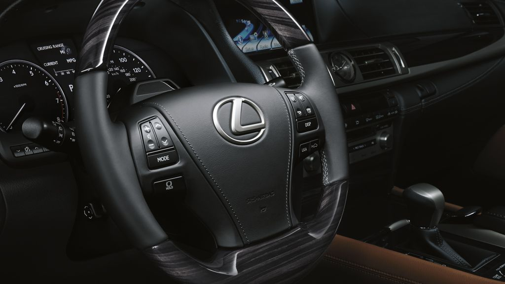 available heated steering wheel with shimamoku espresso wood accent ls 460 pinterest. Black Bedroom Furniture Sets. Home Design Ideas