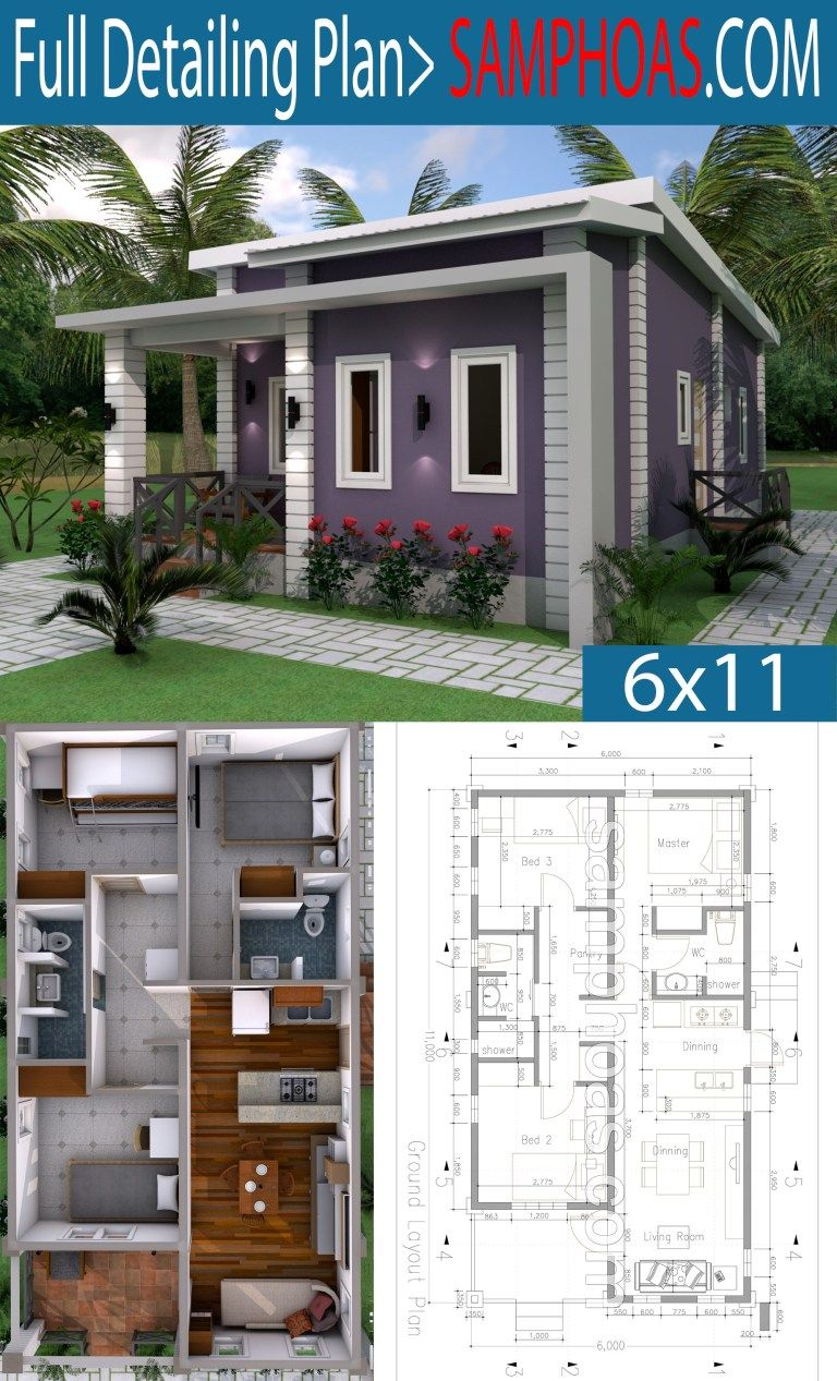 House Plans, Simple House Design, Small House Plans