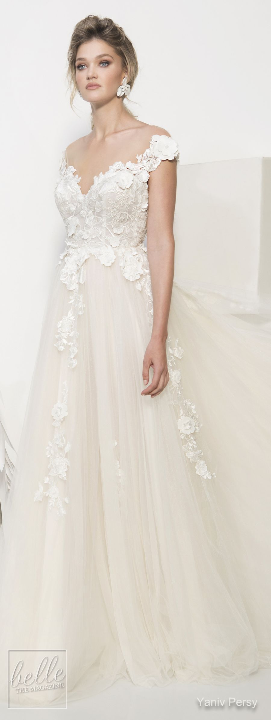 Wedding decorations using tulle october 2018 Yaniv Persy Wedding Dresses Spring   Couture Bridal Collection
