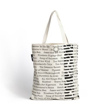 This would make the best library bag Banned Books Tote    The mental floss  Store 65a4d2cc0f514