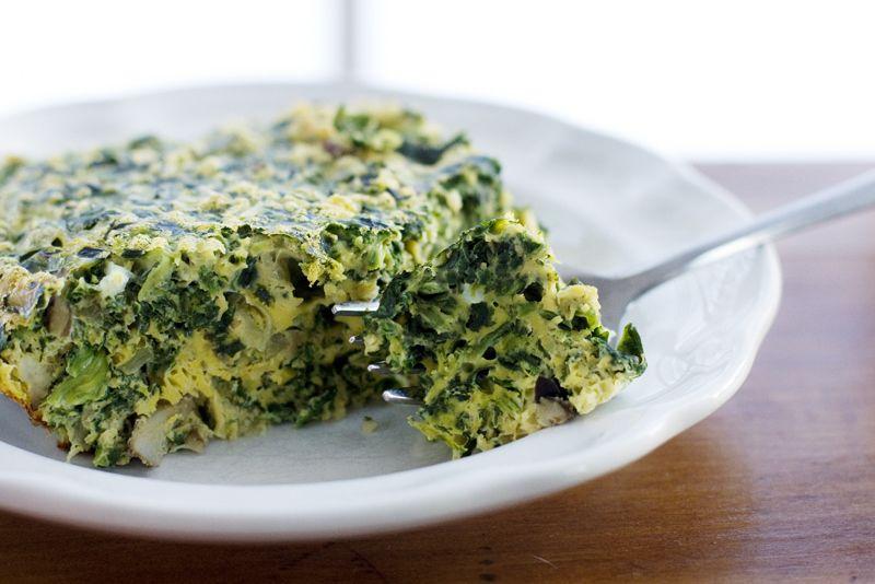 Spinach-Mushroom Breakfast Casserole