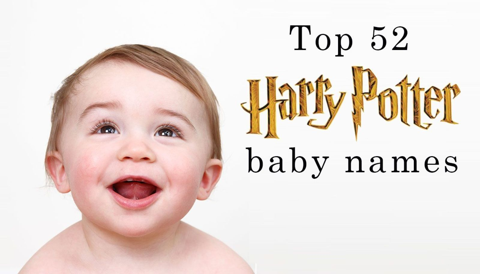 Baby name inspiration: Top 52 Harry Potter baby names - and