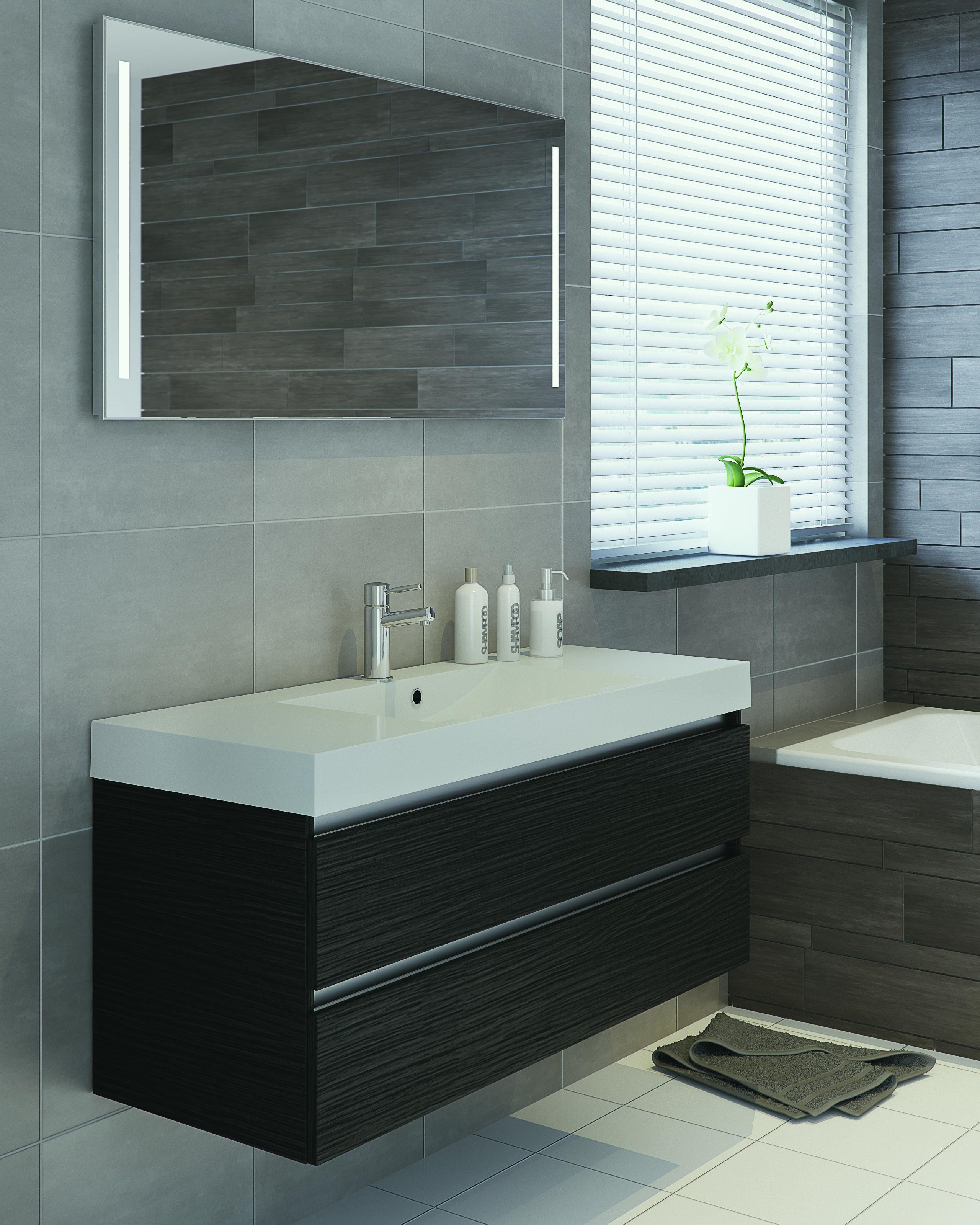 Bruynzeel palitano 120cm badmeubel badkamer sanitair for Cabinet salle bain