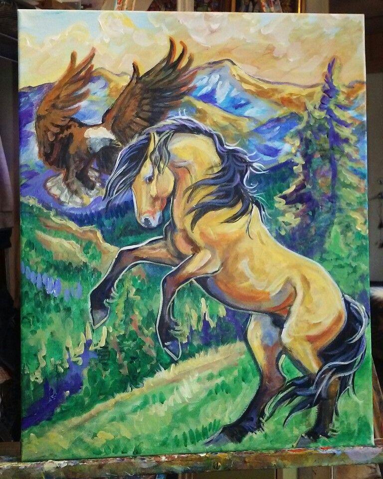 paint spirit stallion of the cimarron # 2