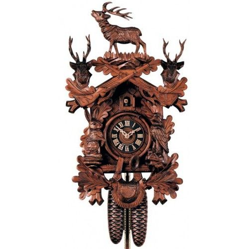 Black Forest Clocks | ... Style with Animals - 8 Day Mechanical ...