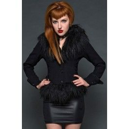 Anastasiya Winter Jacket with Faux Fur