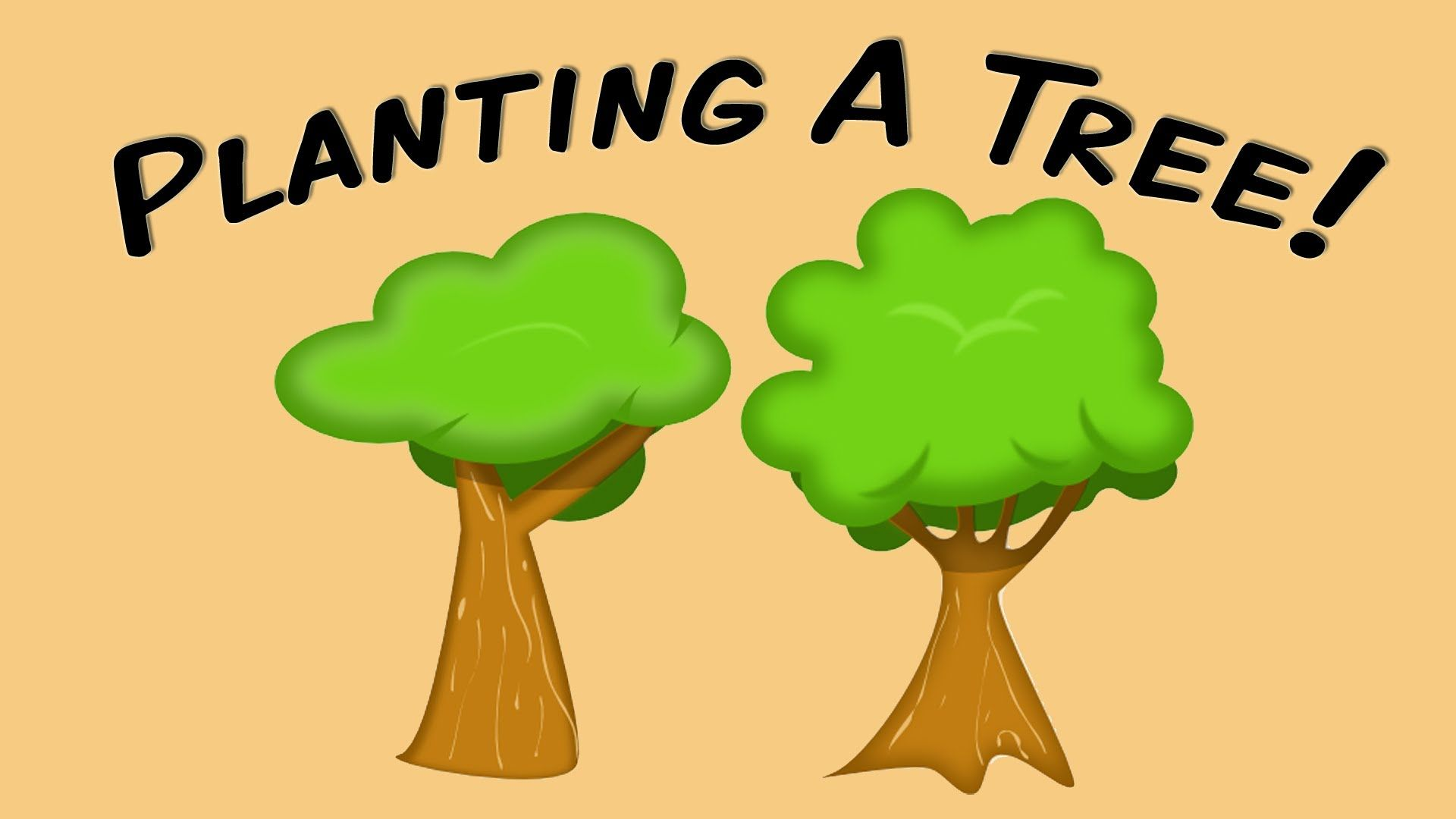 Planting A Tree Fingerplay Song For Children