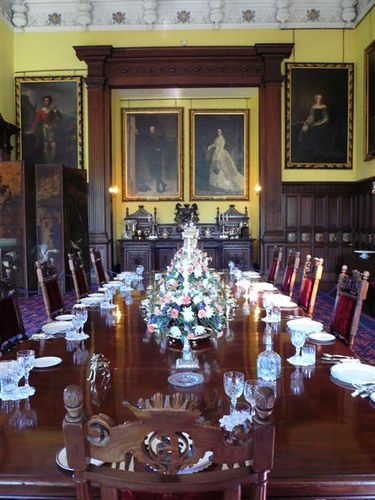 Glamis Castle Dining Room  Castles Scotland And Room Entrancing Castle Dining Room Decorating Inspiration