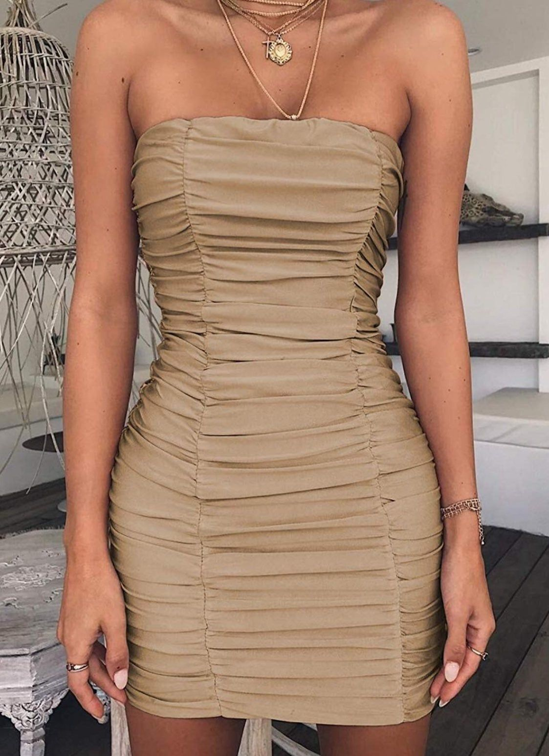 Feel Fun And In Love With The Ubon Strapless Bodycon Dress This Hot Little Number Strapless Bodycon Dress Bodycon Dress Bodycon Fashion [ 1545 x 1123 Pixel ]