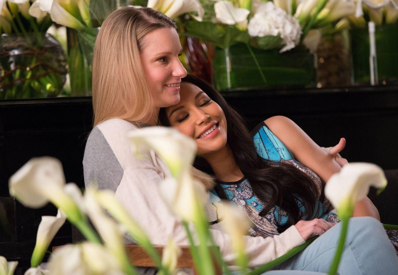 Santana Glee dating