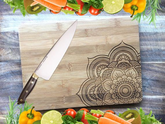 Mandala Chopping Board