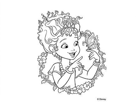Cute Free Printable Fancy Nancy Disney Junior Coloring Pages For Kids Bunny Coloring Pages Barbie Coloring Fancy Nancy