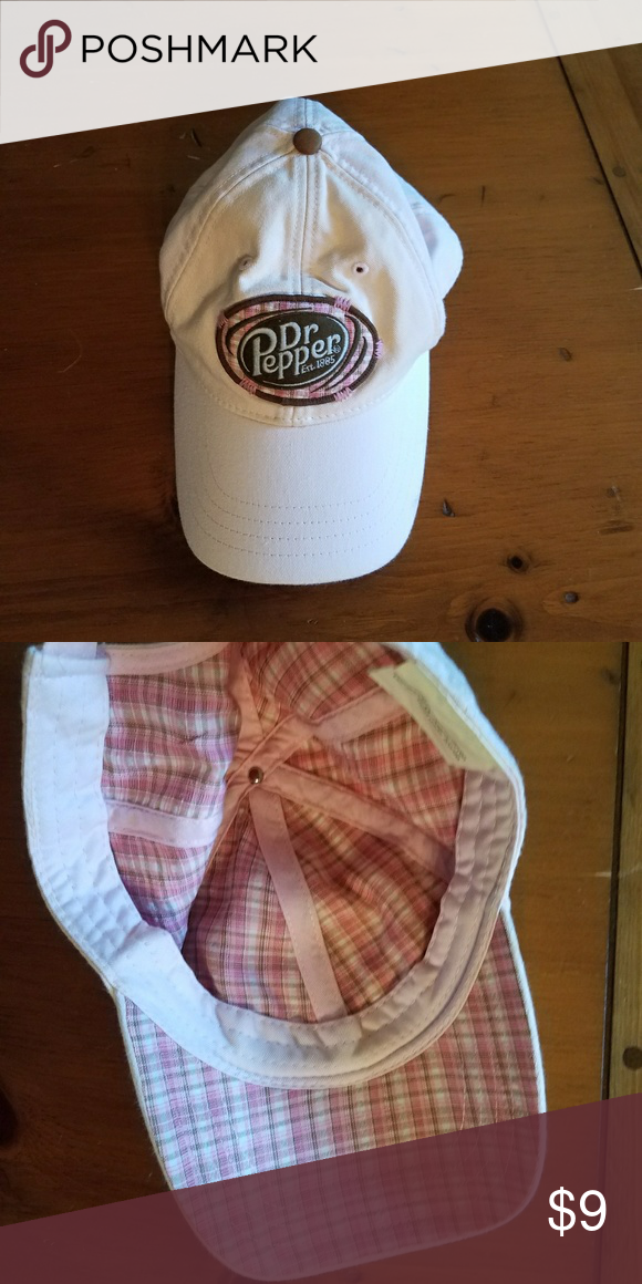 d30e7e674e7 Dr. Pepper Hat Pink Dr. Pepper hat. Barely worn. I realized I m not a hat  person Accessories Hats