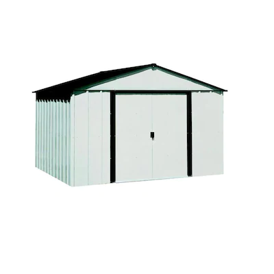 Arrow Common 10 Ft X 8 Ft Interior Dimensions 9 85 Ft X 7 5 Ft Galvanized Steel Storage Shed At Lowes Com Steel Storage Sheds Aluminum Sheds Shed Storage