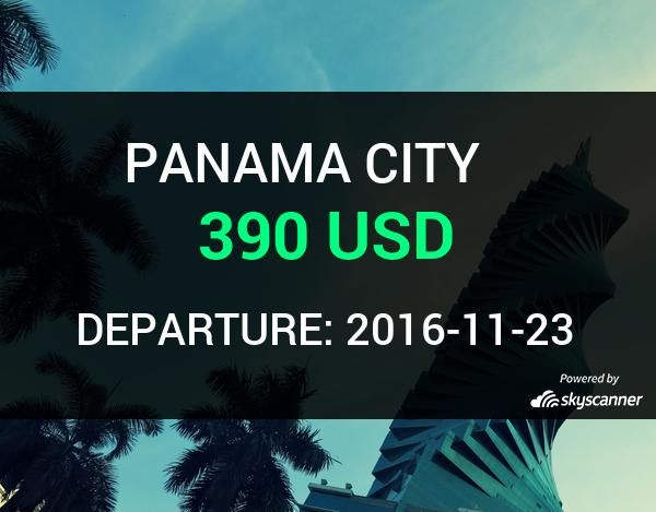 Flight from Phoenix to Panama City by Air Canada    BOOK NOW >>>