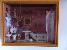Antico bagno ~ Mobili in miniatura antichi piccolo bagno mobili in miniatura
