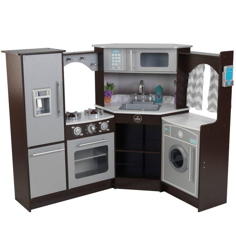Corner Kitchen Set Kidkraft Corner Kitchen Wooden Play Kitchen