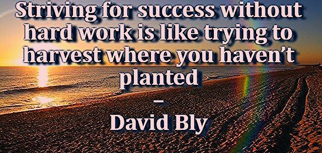 Work Harder Motivation