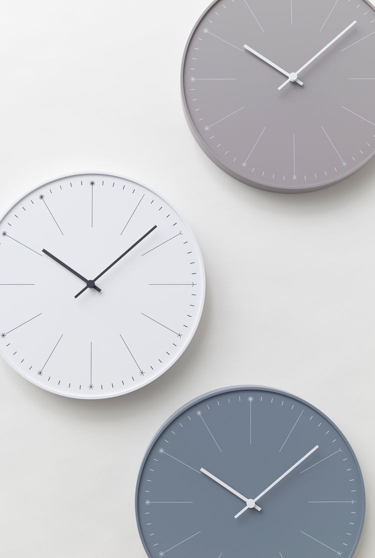 Wonderful Dandelion Clock By Nendo (COCO LAPINE DESIGN) Amazing Design